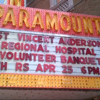 Photo taken at Historic Paramount Theatre by Tom C. on 4/27/2013