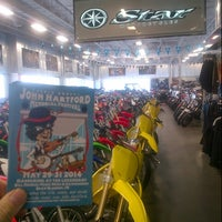 Photo taken at Westfield Yamaha by Tom C. on 5/23/2014