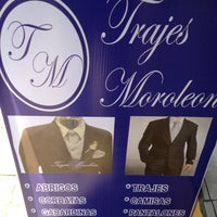 Photo taken at Trajes Moroleon by Eduardo P. on 6/21/2013