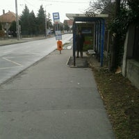 Photo taken at Lőcsei utca (58, 250, 250A, 941) by András R. on 1/7/2013