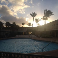 Photo taken at Monaco Beach Resort by Inessa C. on 2/20/2014