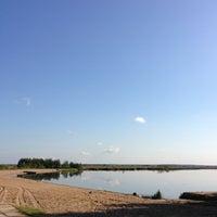 Photo taken at Пляж «Северный» by Evgeniya📬 K. on 9/13/2013