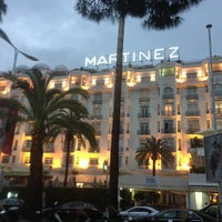 Photo taken at Grand Hyatt Cannes Hôtel Martinez by Pascal I. on 5/15/2013