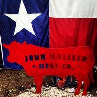 Photo taken at John Mueller Meat Company by Paul K. on 5/19/2013