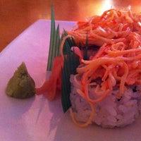 Photo taken at Ikebana Sushi Bar - Carolina by Regina O. on 8/5/2013