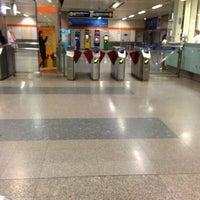 Photo taken at MRT Huai Khwang (HUI) by Looktarn K. on 11/24/2012