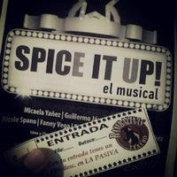 Photo taken at Teatro Bambalinas by Machi P. on 8/29/2014