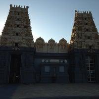 Photo taken at Shri Shiva Vishnu Temple by Joydeep S. on 2/5/2014