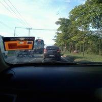 Photo taken at Traffic Light Puterajaya by Sherine J. on 12/30/2012