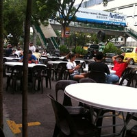 Photo taken at Sungai Pinang Food Court (檳榔河) by Angelina L. on 4/5/2013