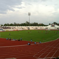 Photo taken at 700th Anniversary Chiangmai Sports Complex by Platoo H. on 5/18/2013