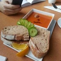 Photo taken at Commercial Street Cafe by Jennifer T. on 1/19/2013