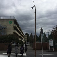 Photo taken at 入間市立豊岡中学校 by ぐんちゃん™ on 11/12/2015