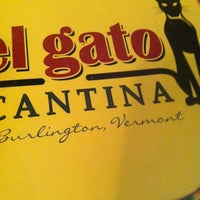 Photo taken at El Gato Cantina by Alyssa B. on 11/5/2012