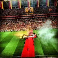 Photo taken at Türk Telekom Arena by Dilay Y. on 7/13/2013