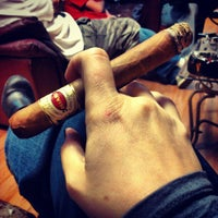 Photo taken at Goodfellas Cigar Lounge by Heather C. on 1/19/2013