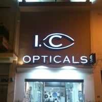 Photo taken at I.C. Opticals by Lefteris T. on 3/17/2013