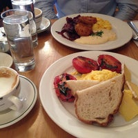 Photo taken at Clinton St. Baking Co. & Restaurant by Ksenia A. on 4/19/2013