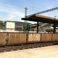 Photo taken at Tatabánya vasútállomás by Bence L. on 5/8/2013