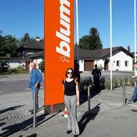 Photo taken at Julius Blum GmbH Werk 2 (Zentralwerk) by Ana Paula F. on 6/26/2017