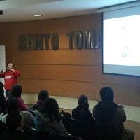 Photo taken at Universidad Santo Tomás by Cristián F. on 5/19/2016