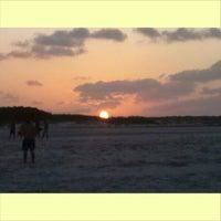 Photo taken at Praia de Salinas by Raffael O. on 7/26/2013