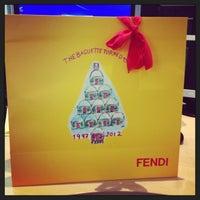 Photo taken at FENDI by Lena on 12/19/2012