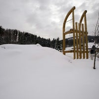 Photo taken at Blombergbahn by Murat P. on 12/28/2014
