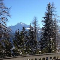 Photo taken at Schatzalp Panorama Restaurant by Guillaume -. on 1/1/2015
