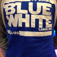 Photo taken at Blue and White by Jarl C. on 5/4/2013