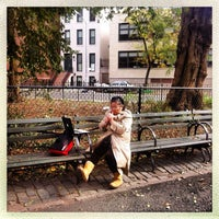 Photo taken at Tompkins Square Park by Madame L. on 11/3/2012