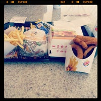 Photo taken at Burger King by Maiko C. on 3/1/2013