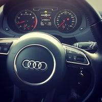 Photo taken at Audi (АвтоПремьер) by Regina G. on 1/10/2013