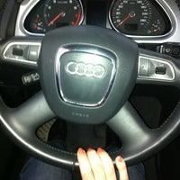 Photo taken at Audi (АвтоПремьер) by Regina G. on 3/24/2013