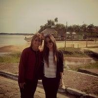 Photo taken at Playa Punta Norte by Manuela S. on 9/27/2013