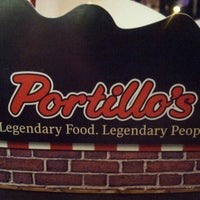 Photo taken at Portillo's Hot Dogs by Aaron R. on 2/16/2013