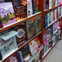 Photo taken at Gramedia by zuhda s. on 2/2/2013