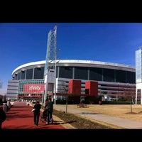 Photo taken at Georgia Dome by Man_Used👽👾👽 on 10/8/2013