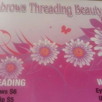 Photo taken at Eyebrow Threading Beauty Spa by Diane D. on 9/21/2013