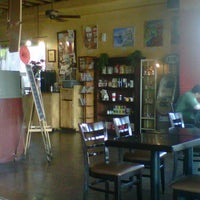 Photo taken at Sabor y Cultura Café by Breeze V. on 3/16/2013
