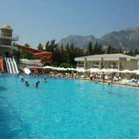 Photo taken at Queen Havuz Pool by Ferda'ğ K. on 8/16/2013