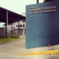 Photo taken at Colégio Sagrado Coração de Jesus de Garibaldi by Guilherme B. on 11/28/2013