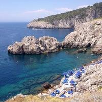 Photo taken at Faro di Punta Carena by Nadia L. on 6/13/2014