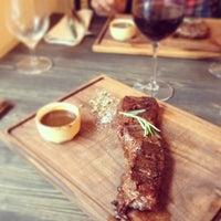 Снимок сделан в Red. Steak & Wine пользователем Nadia L. 1/18/2014