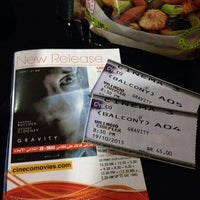 Photo taken at Cinema 3 by Marym A. on 10/19/2013