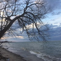 Photo taken at Durand Eastman Beach by Robert S. on 4/5/2017