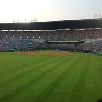 Photo taken at Jamsil Baseball Stadium by S.Y. K. on 7/26/2013