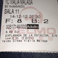12/14/2012에 Marta C.님이 Yelmo Cines Vialia-Málaga 3D에서 찍은 사진
