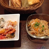 Photo taken at OSTERIA LEGAME 神楽坂 by K on 12/8/2013