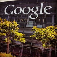Photo taken at Googleplex by Ken Y. on 7/29/2013